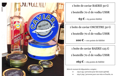 Duo CAVIAR / VODKA