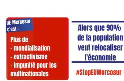 Il est encore temps – Mettons fin à l'accord UE-Mercosur !