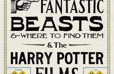 Exposition - The Graphic Art of Fantastic Beasts & Where to Find Them & The Harry Potter Films