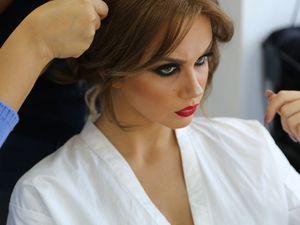 backstage  LILIA BEN AZIZA https://www.facebook.com/lba.makeup/