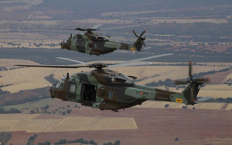 Les NH-90 Caïman entrent en service au sein de l'Ejército de Tierra