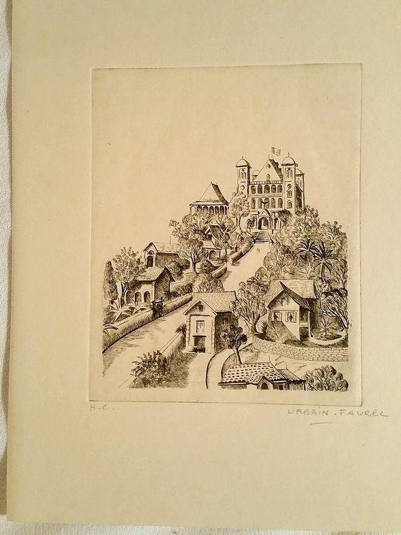 TANANARIVE. Eaux-Fortes d'Urbain-Faurec. Présentées par Pierre Camo.