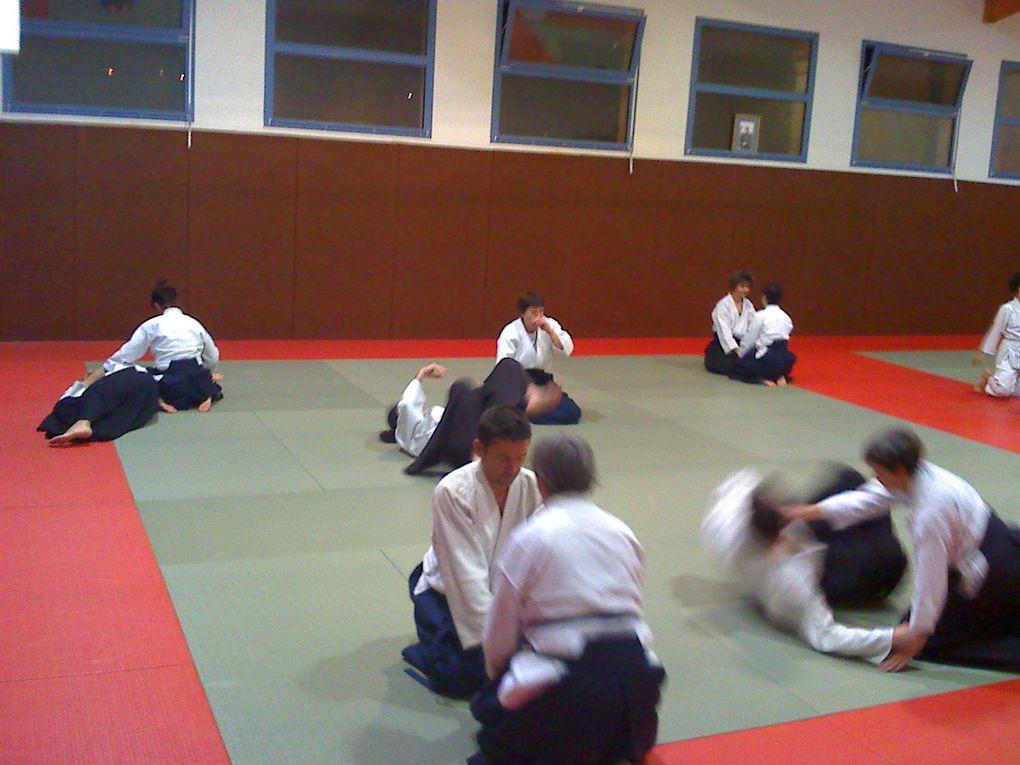 Rencontre avec le club d'Espace Aikido de Toulouse le 8 décembre 2011