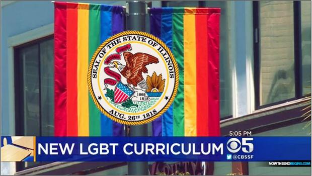 USA : L'Illinois adopte une loi obligeant toutes les écoles publiques à commencer à enseigner les idéologies LGBTQ+P