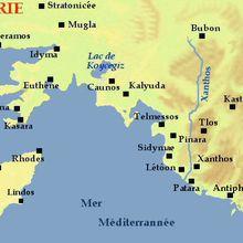 2019 août : Les cités Lyciennes et la côte d'Antalya