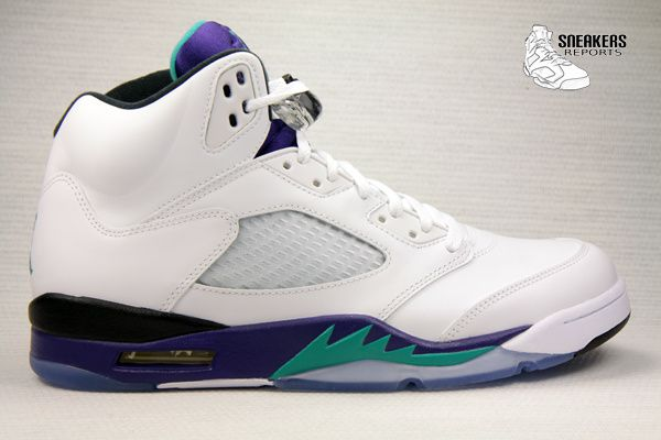 Nike Air Jordan V Grape Rétro 2013