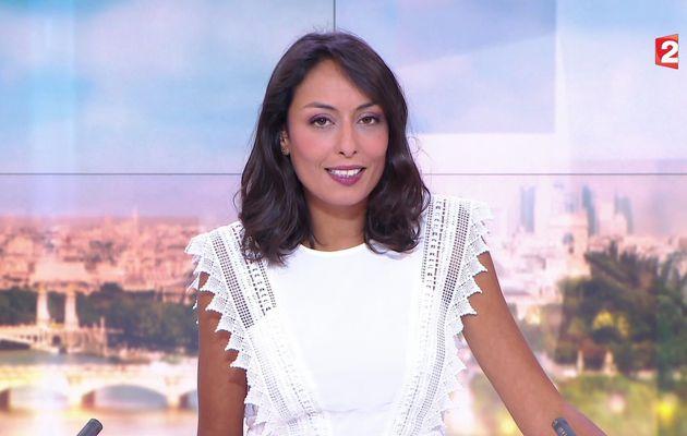 📸7 LEILA KADDOUR @Leilakan ce samedi midi pour LE 13H WEEK-END @France2tv #vuesalatele
