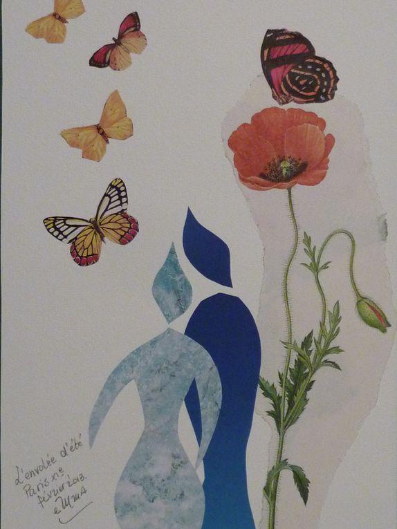 Les Collages d'eMmA MessanA, pièces uniques