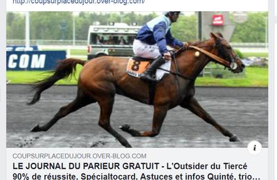 LE JOURNAL GRATUIT DU PARIEUR - 28 OCTOBRE 2021 - COUPLE DU JOUR DU TIERCE EN COUVERTURE