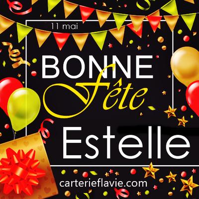 En ce 11 Mai, nous souhaitons une bonne fête à Estelle