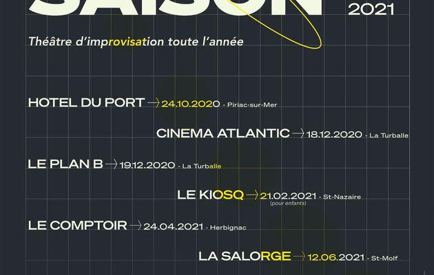 Piriac-sur-Mer - Manifestation annulée - Improvisation théâtrale : la saison est lancée - 24 octobre 2020