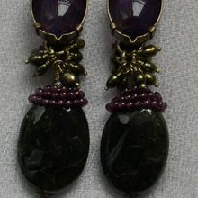 Boucles d'oreille / Bijoux de créateur / Simone d'Avray