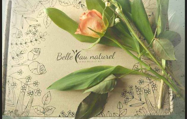 Belle au naturel, la box beauté 100 % bio - mai 2019