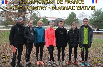 CHAMPIONNAT FRANCE CROSS COUNTRY 2017/2018