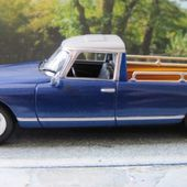 FASCICULE N°40 CITROEN DS ID 19 BREAK PICK-UP 1970 1/43 - car-collector.net