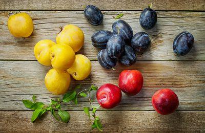 De Juillet à Octobre... les prunes