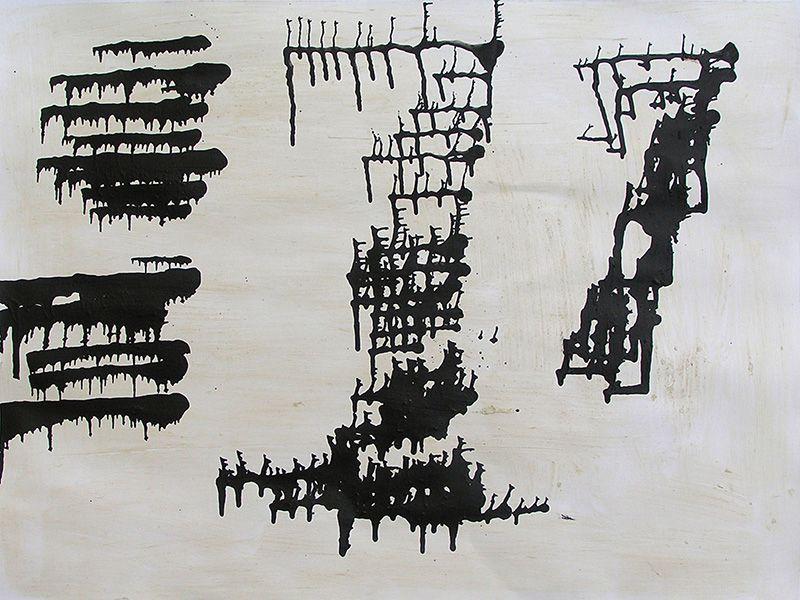3 peintures de Janine Bailliez