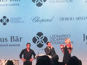 Leonardo Di Caprio and Sylvester Stallone