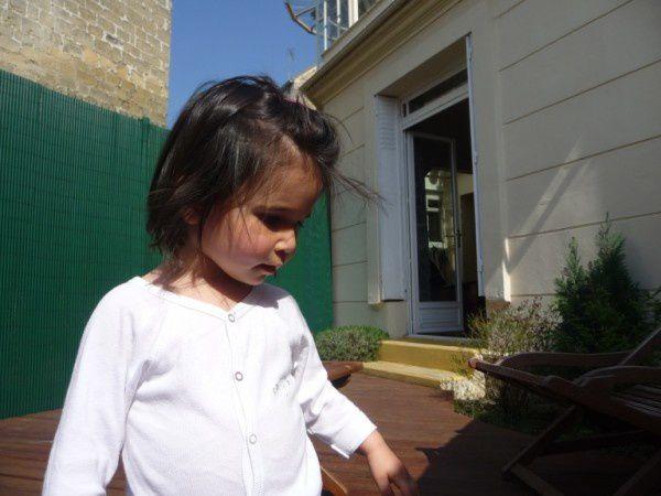 Anniversaire de Mamie, avril 2010.