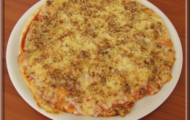 Pizza cantal noix...