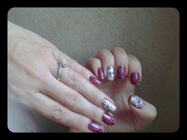 "Nail Art Halloween "" girly ""...."
