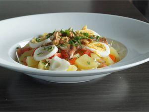 Salade d'endive et fenouil
