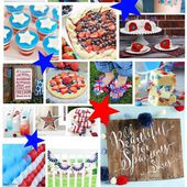 DIY Patriotic Wands, Flags and Sparklers - 100 Directions