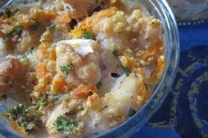 Terrinettes de poisson et aux carottes