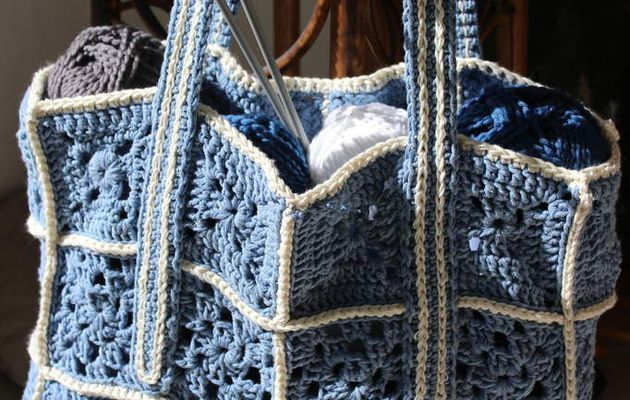 Sac shopping au crochet