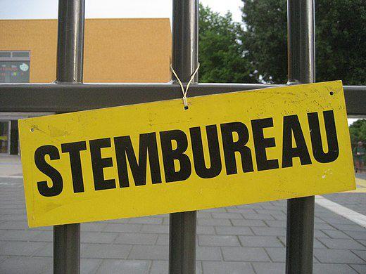 L'instant néerlandais du jour (2021_03_16): het stembureau/stemlokaal