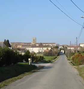 L'église de St Martin Lalande
