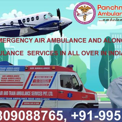Best ICU Services in Panchmukhi Air Ambulance Service in Jaipur