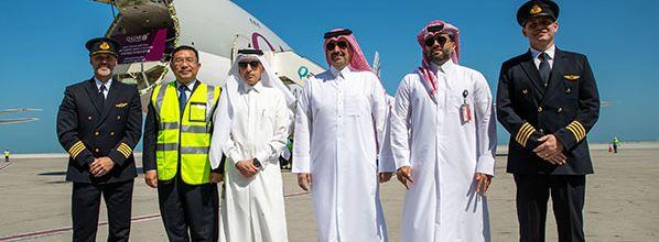 Coronavirus - Qatar Airways envoie du matériel médical en Chine via un convoi cargo