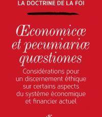 SUR LE SYSTÈME ÉCONOMIQUE ET FINANCIER ACTUEL (20) : CONCLUSION