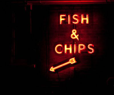 """"""" Fish and chips """""""