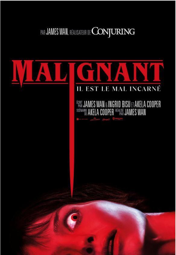 MALIGNANT, le 1er trailer du film d'horreur signé James Wan au Cinéma le 1er septembre