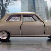 FASCICULE N°11 OPEL REKORD 1700 DINKY TOYS REEDITION ATLAS 1/43 - car-collector