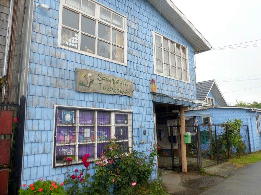Les maisons de Chiloé.