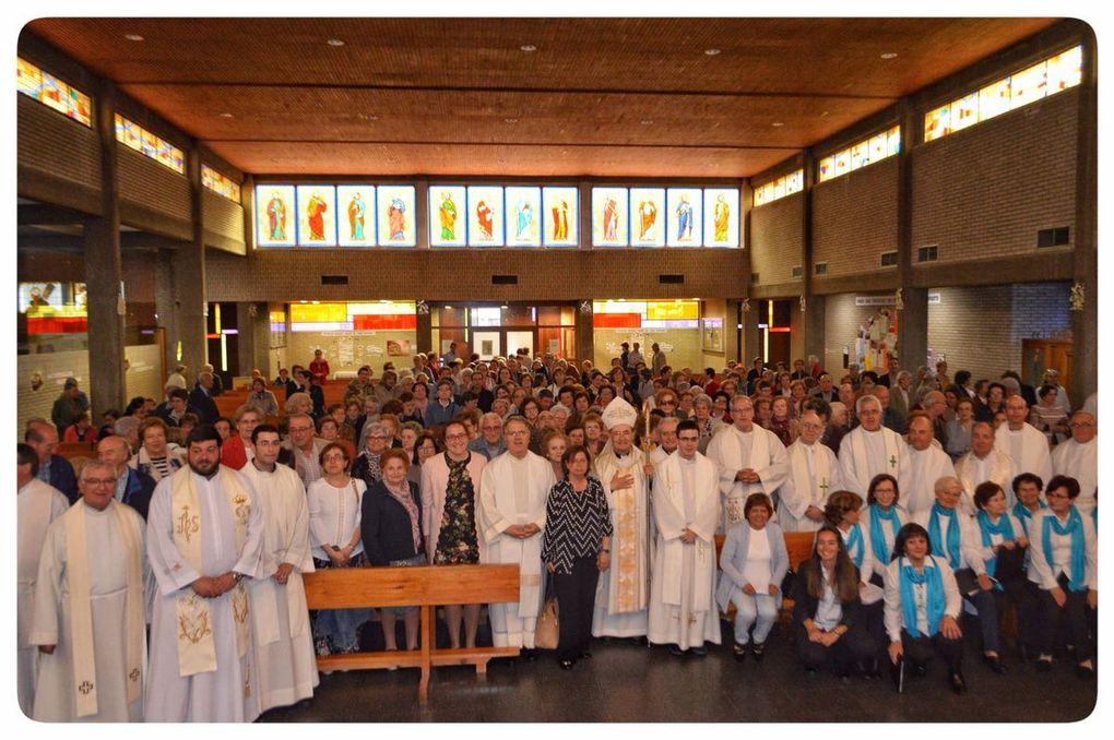 Clausura de la visita pastoral en el Arciprestazgo del Vena