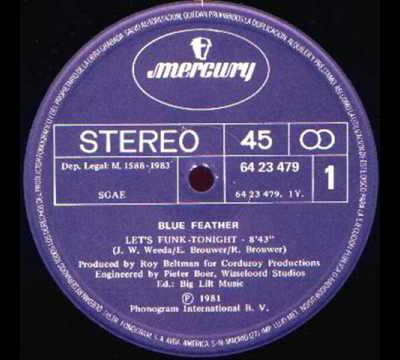 """""""Let's Funk Tonight"""" by Blue Feather"""