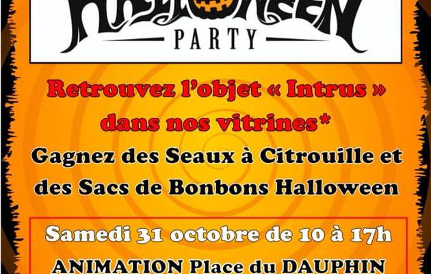 Pornichet / Les commerçants du Dauphin - Annulé - Halloween Party du 27 au 31 octobre 2020