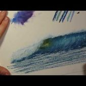 Tips and Tricks #1~ How to Blend Oil Pastels