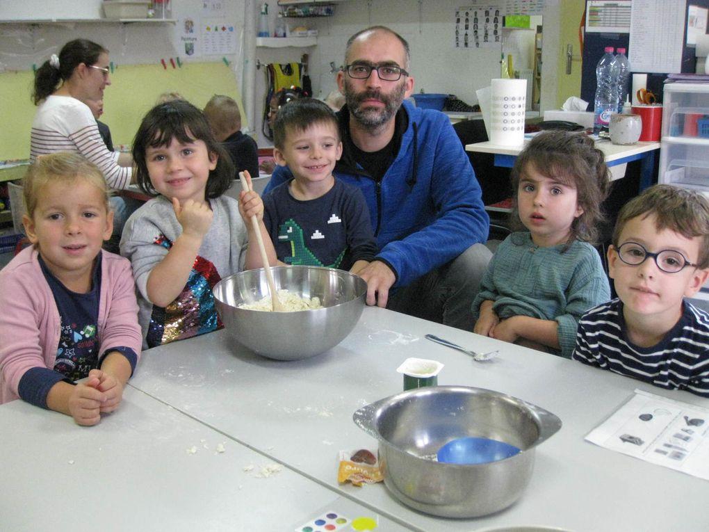 Les cuisiniers de la classe de Régine