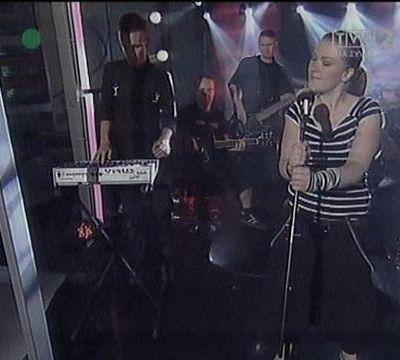 Live pour la TV polonaise