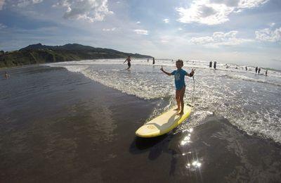 Jour 26 - Surf et Bodyboard à Ngarumi Beach
