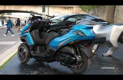 nouvelle génération scooter 3 roues marque française