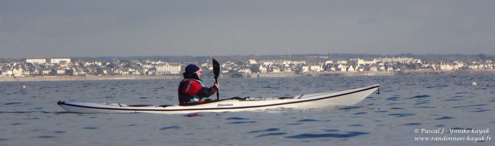 Beg-Meil : kayak & rolls