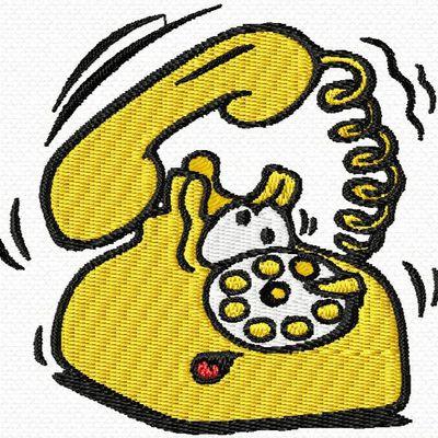 un téléphone sympa