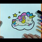 Como dibujar un unicornio paso a paso 10 | How to draw a unicorn 10