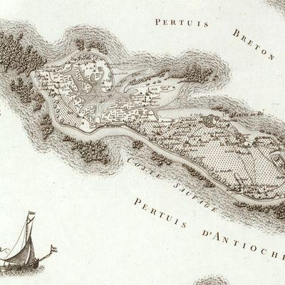 Carte de France de 1750